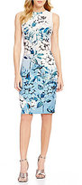 Vince Camuto Soft Floral Bodycon Dress