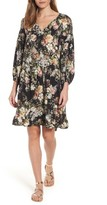 Velvet by Graham & Spencer Women's Vintage Floral Drop Waist Dress