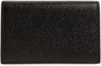 Thom Browne Leather Business Card Holder