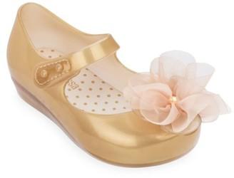 Mini Melissa Baby's, Little Girl's & Girl's Resin Floral Ballet Flats