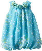 Little Lass Baby-Girls Newborn 1 Piece Bubble Creeper with Puff Prints