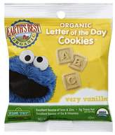 Earth Earth's Best Vanilla Letter of the Day Cookies - 1oz