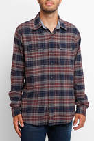 Tailor Vintage Brushed Stretch Long Sleeve Flannel Button Down Shirt