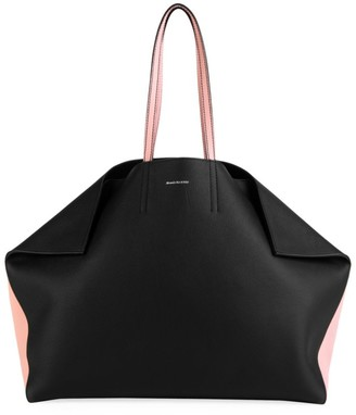 Alexander McQueen Butterfly Leather Tote