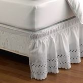 Bed Bath & Beyond Ruffled Eyelet Bed Skirt