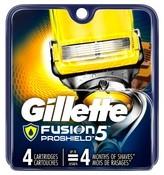 Gillette Fusion® ProShield Men's Razor Blade Refills - 4 ct
