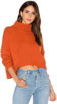Autumn Cashmere Funnel Neck Sweater
