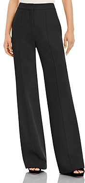 Adam Lippes Pintuck Wide Leg Pants