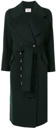 Onefifteen Button-Up Wool Coat