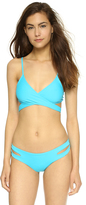 L-Space Chloe Wrap Bikini Top