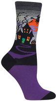 Hot Sox Haunted House Socks