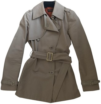 Tod's Beige Cotton Trench Coat for Women