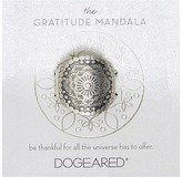 Dogeared Gratitude Mandala Center Flower Ring