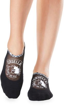 Tavi Noir Maddie Grip Cruella de Vil Socks