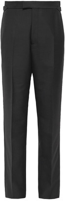Maximilian Mogg Wool And Mohair-Blend Tuxedo Trousers