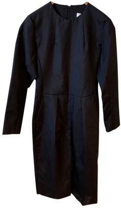 Saint Laurent Grey Wool Jumpsuit for Women