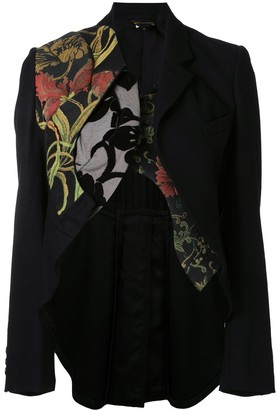 Comme Des Garçons Pre-Owned Deconstructed Tailcoat