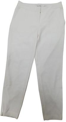 Yigal Azrouel White Trousers for Women