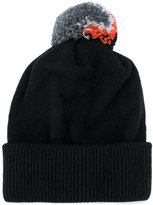 Paul Smith pom pom beanie hat