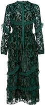 Rochas embroidered shirt dress