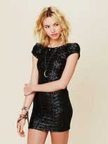Backstage Sequin Fever Bodycon Dress