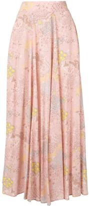 Zadig & Voltaire Glam Rock print skirt