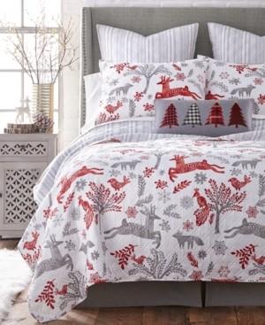 Levtex Home Winterland King Quilt Set