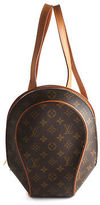 Louis Vuitton Brown Coated Canvas Monogram Ellipse Backpack Handbag BC10033 MHL