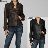 Izod Women's Plus Size Asymmetrical Placket Jacket