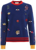 Gucci Handmade Embroidered Sweater