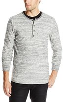 Alternative Men's Eco Space Dye Thermal Frontier Henley