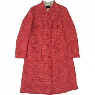 Strenesse \N Red Cotton Coat for Women