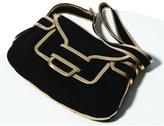 Pierre Hardy Suede and Metallic Saddle Bag