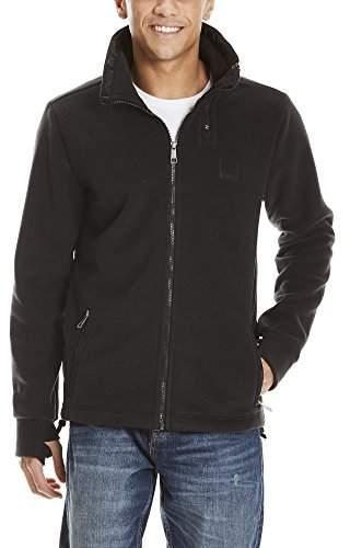Bench Mens Zip Funnel Sweatshirt Sweatshirts