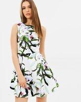 Karen Millen Lily Print Dress