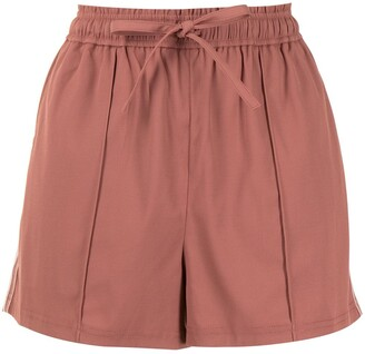 GOODIOUS Side Stripe Shorts