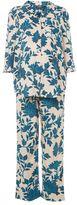 Topshop Maternity geometric floral pyjama set