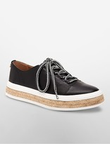 Calvin Klein Jupa Leather Espadrille