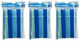 Evriholder PS-C-100PK Flexi Straws, Blue and Green, 100-Pack, Set of 3