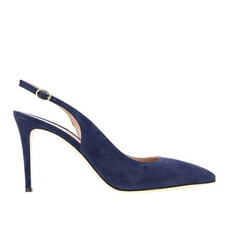 Pollini Sandal In Pointed Suede
