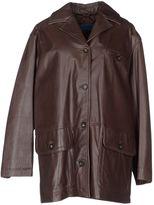 Mariella Burani NOTIZIE DI Leather outerwear