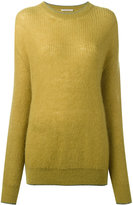 Christopher Kane mohair knitted sweater - women - Polyamide/Polyester/Mohair/Metallic Fibre - XS