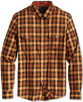 GUESS Men's Long-Sleeve Mathew Check Shirt