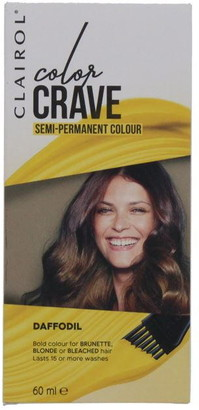 Clairol Color Crave 60ML Semi Permanent Hair Colour Daffodil