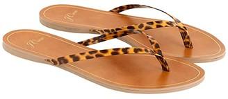 J.Crew New Capri Tortoise Flip-Flop (Honey Tortoise) Women's Shoes