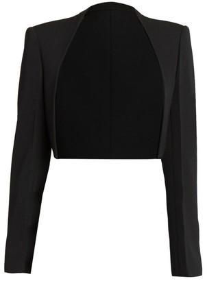 Givenchy Wool Long-Sleeve Bolero Jacket