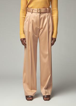 Sies Marjan Women's Blanche Pressed Wool Pant in Soba Size 2