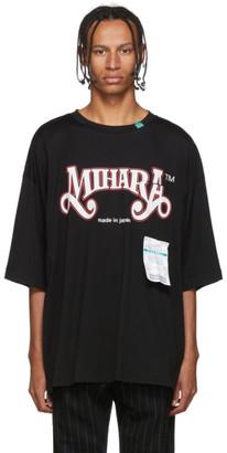 Miharayasuhiro Black Printed T-Shirt