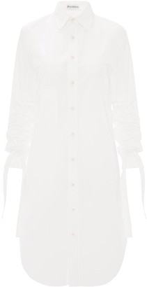J.W.Anderson Gathered Sleeves Shirt Dress