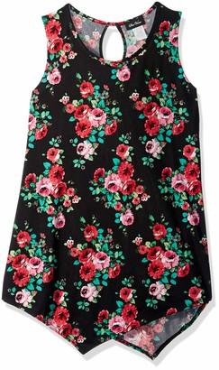 Star Vixen Women's Sleeveless Keyhole Back Tunic Top